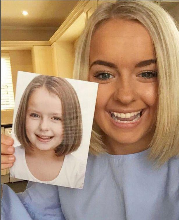 00b2457f37d54 The girl who played Louise Mitchell in EastEnders looks completely  different now