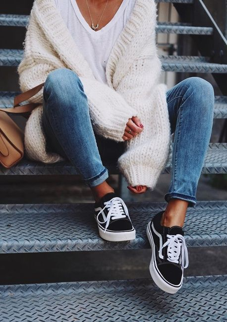 vans old skool lady