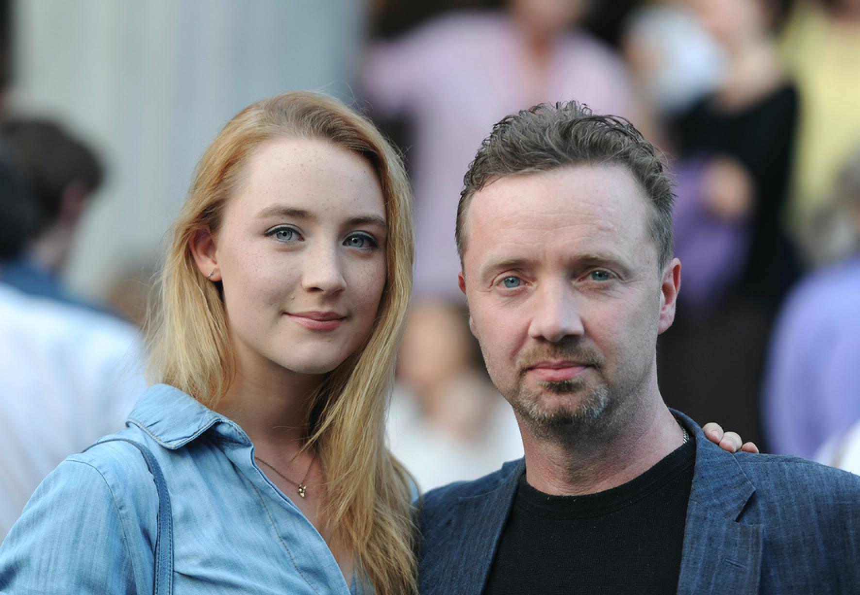 Saoirse Ronan y su papa