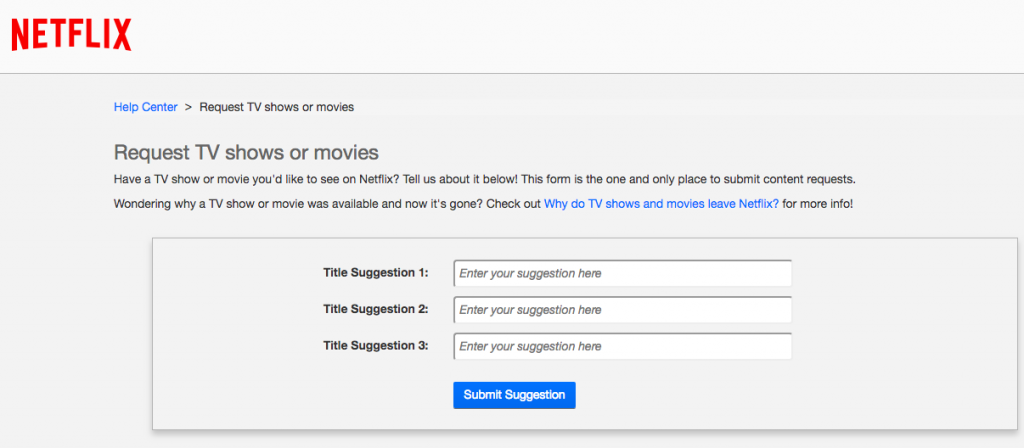Netflix hack: Here's how you can request movies and TV shows