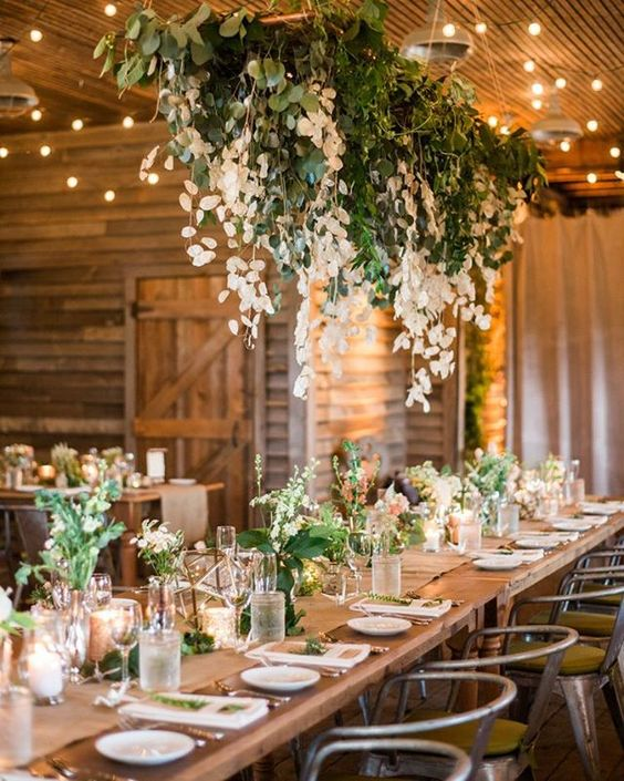 Country Wedding Ideas Flowers: Brides Going For A Rustic Theme Will Adore This New