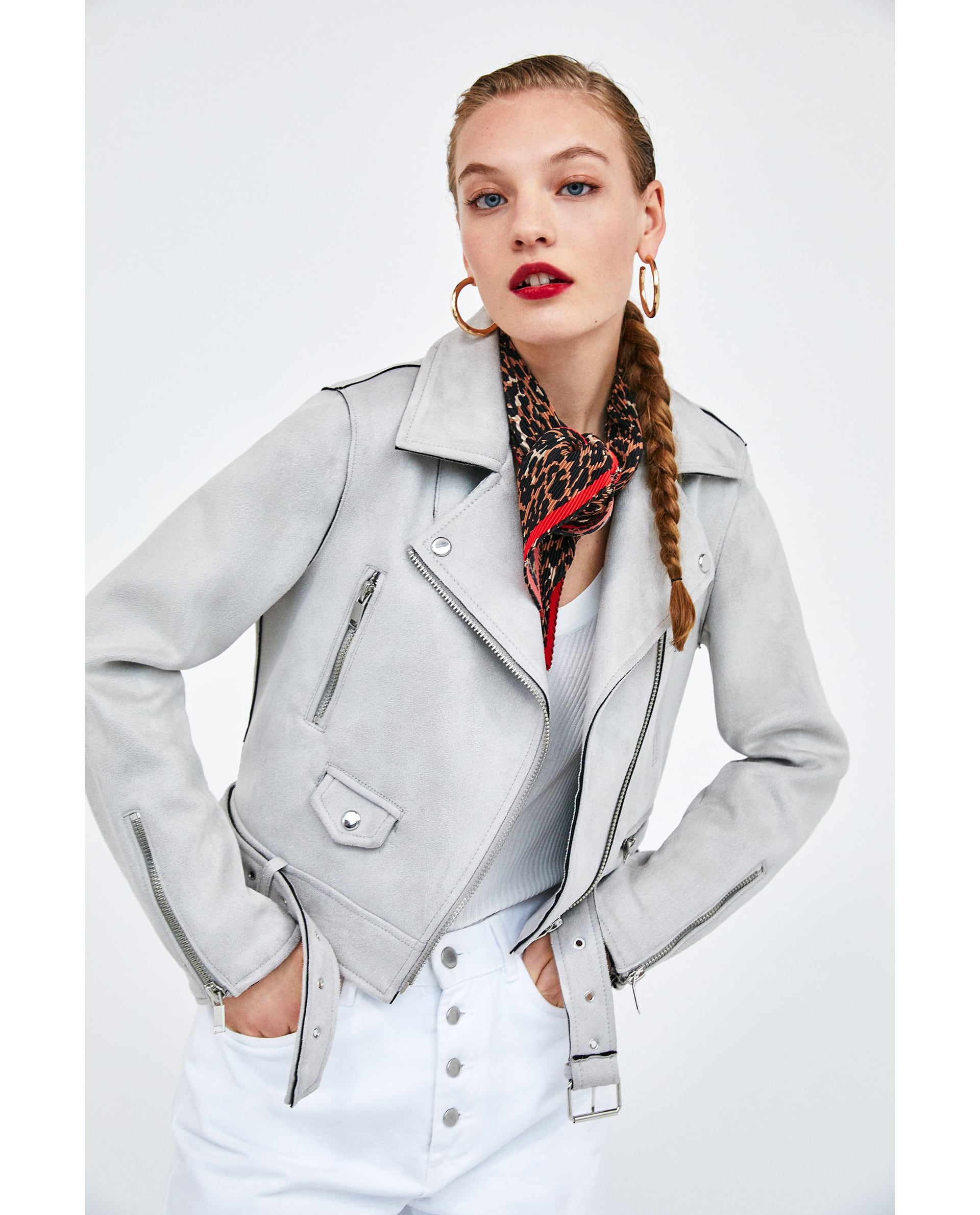 f63c8021e54 These Zara biker jackets come in four colours and for €30 we want ...