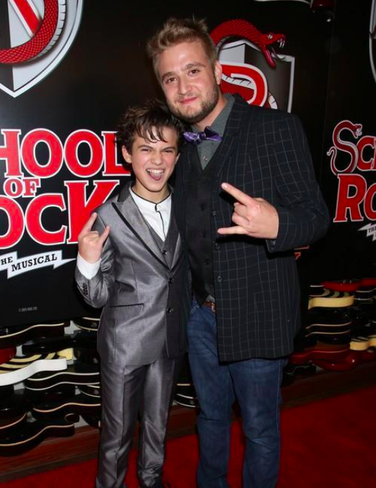 freddy from school of rock has grown up to be an actual