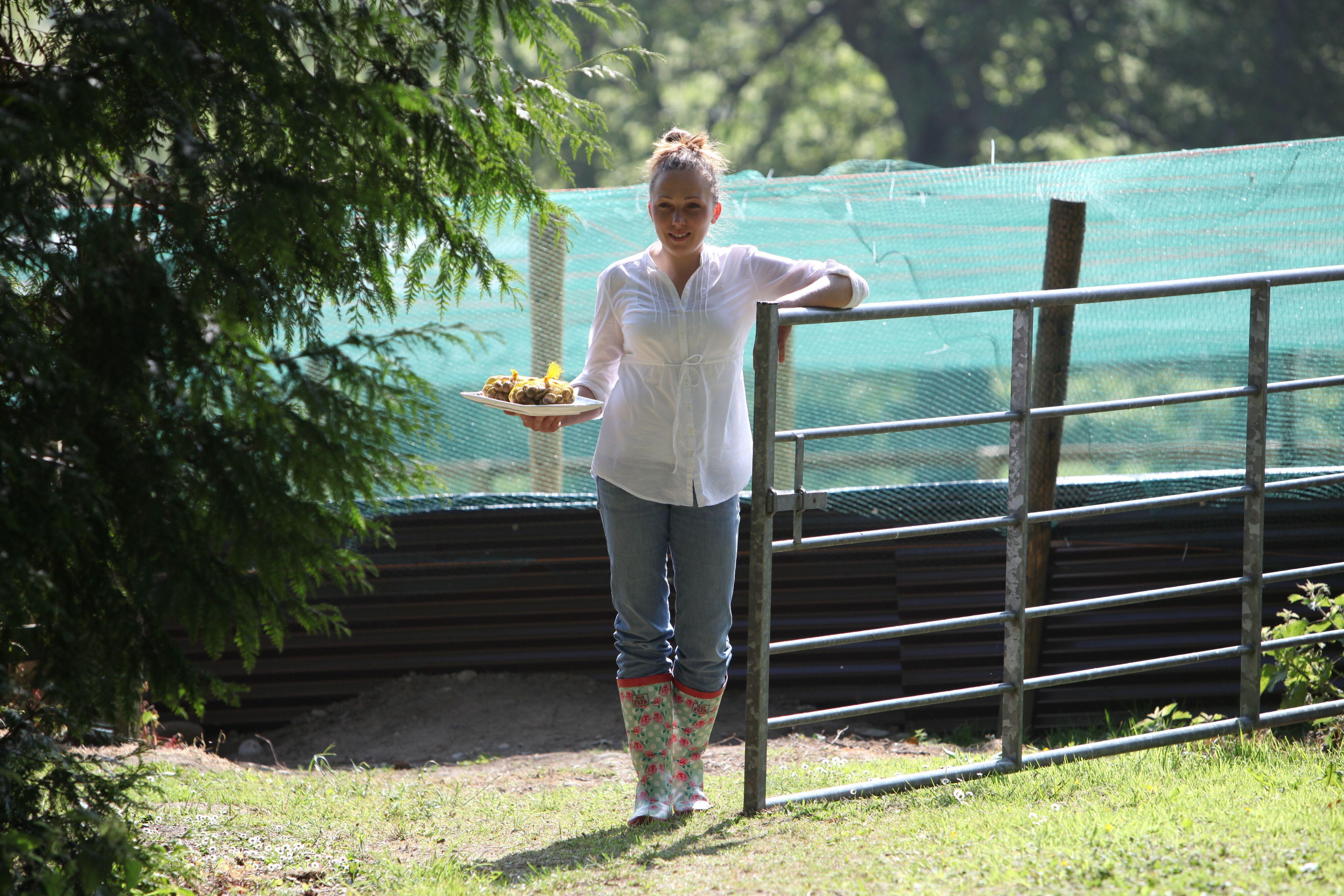 'There is still a perception that farming is for the boys': Eva Milka, snail farmer