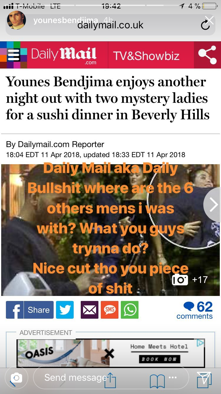 Daily Mail Aka Bullshit Where Are The 6 Others Mens I Was With What You Guys Trynna Do Nice Cut Tho Piece Of Shit