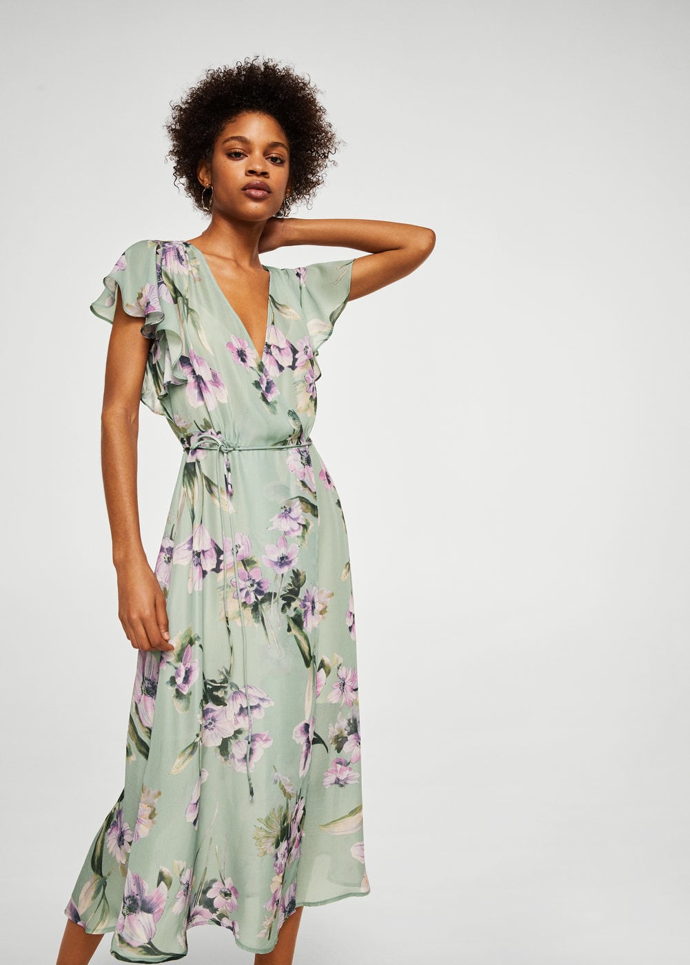 This €60 Mango dress was made to be worn to a summer party with ...