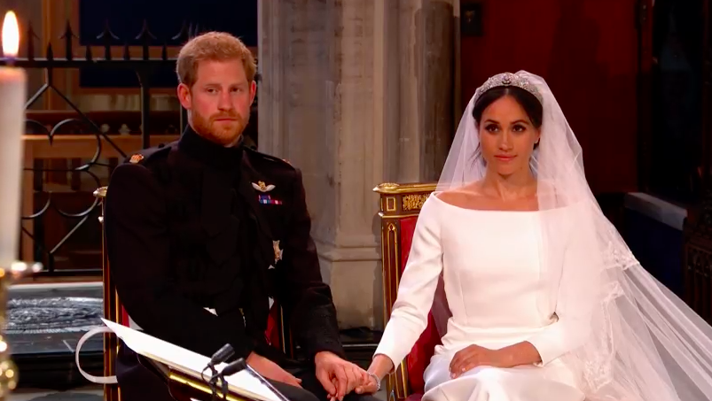 Here's what Harry and Meghan said in their wedding speeches