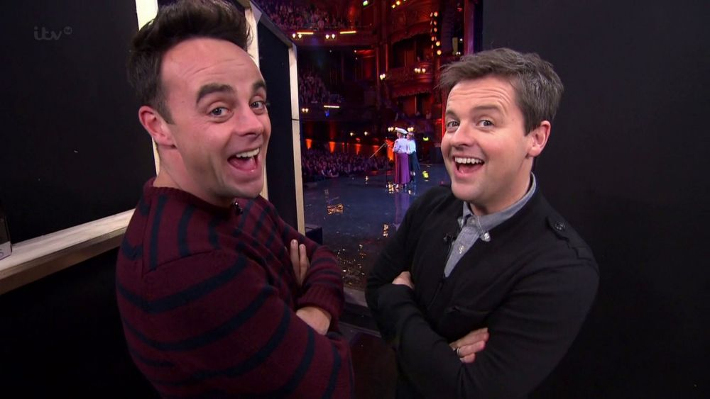 Yay! Ant and Dec are to be reunited on TV early in the New Year