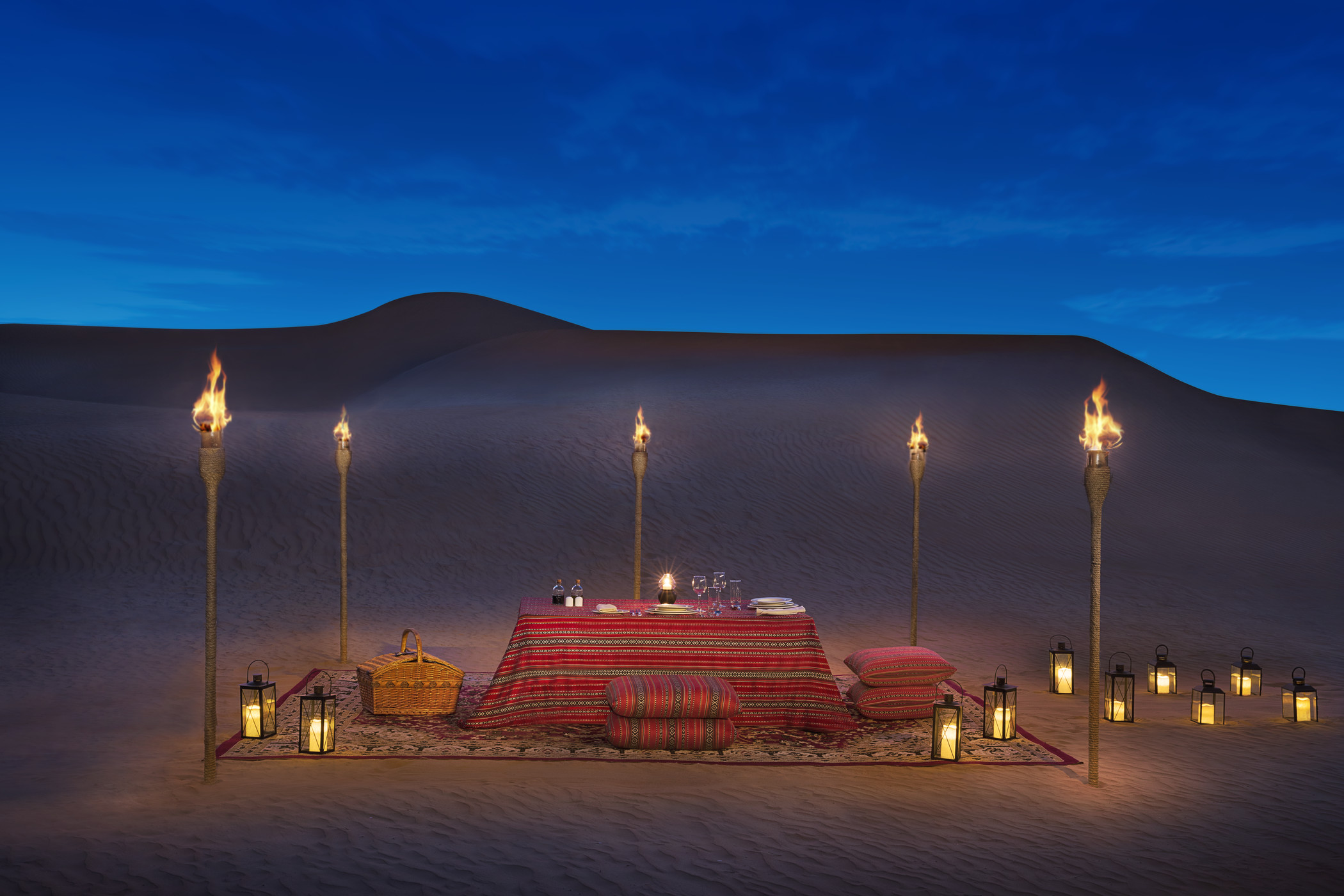 I stayed at a €675-a-night desert hotel in Dubai and I'm still not over it