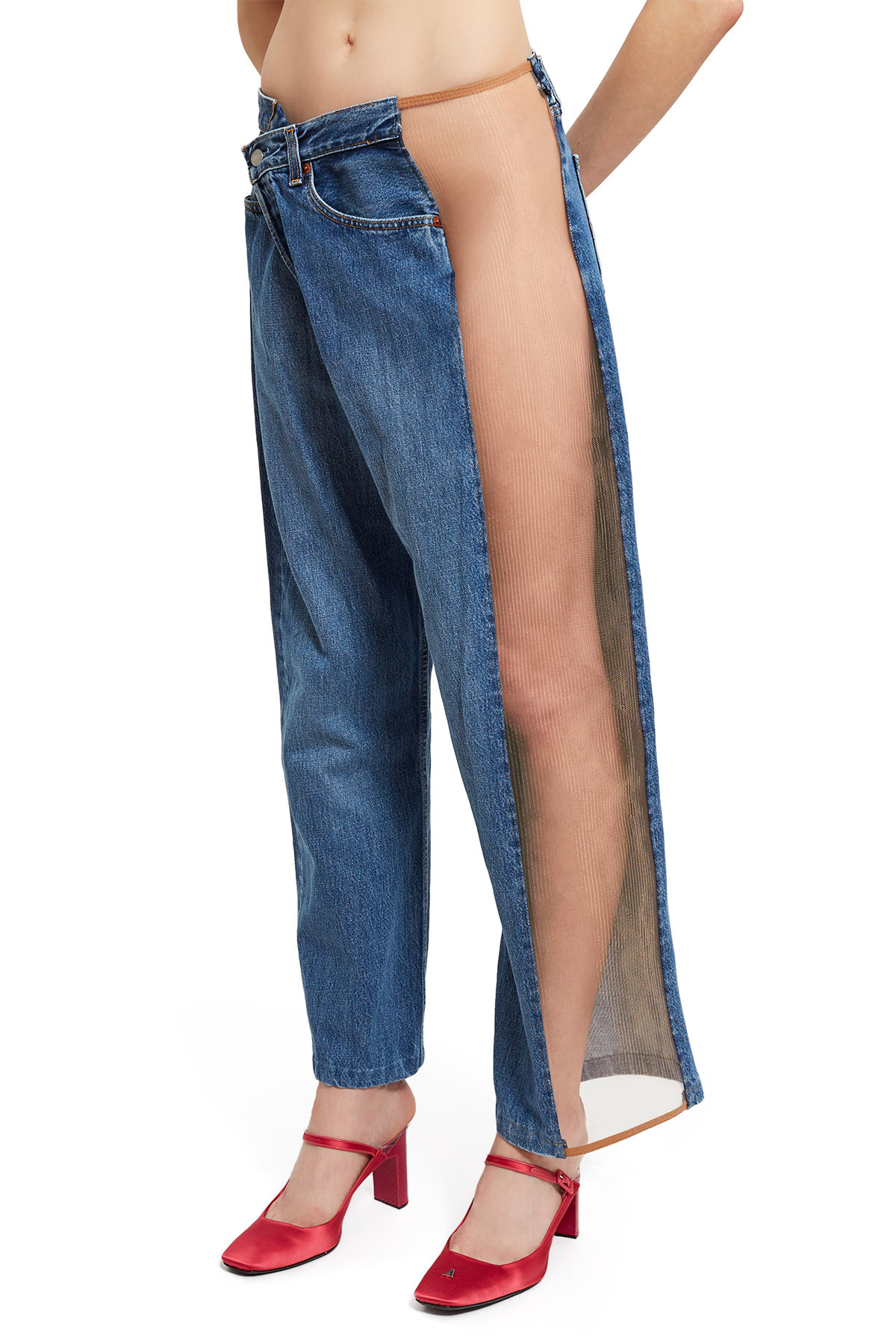 7e96010b0db Not only do these jeans have a weird
