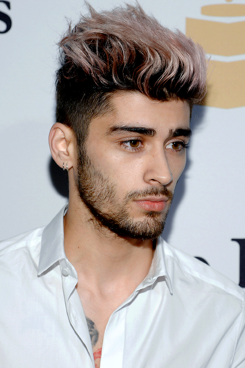 The 10 Picture Evolution Of Zayn Maliks Hair Which Is Now Lavender
