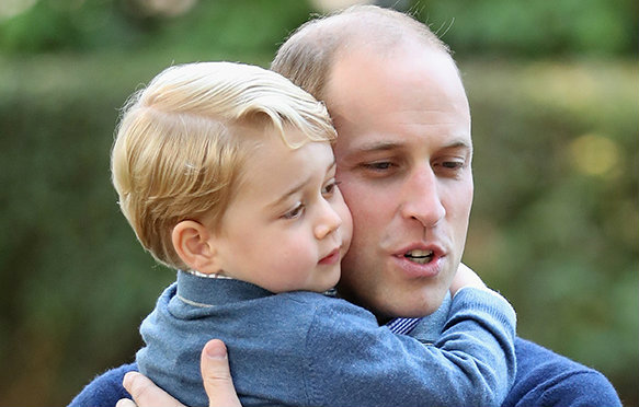 Prince William Opens Up About How Prince George Takes After Diana