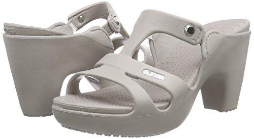 heeled crocs
