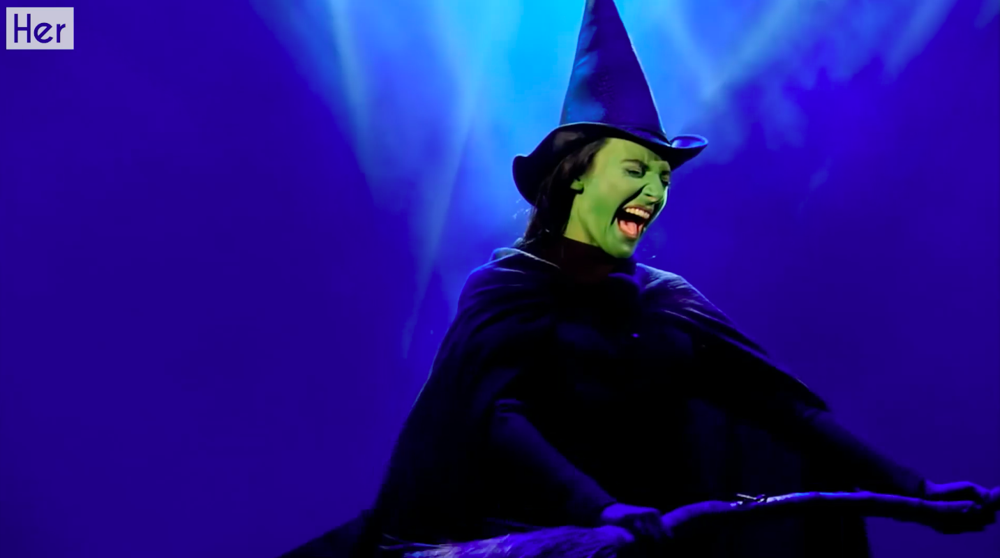 I spent a day on the set of WICKED the musical and now I