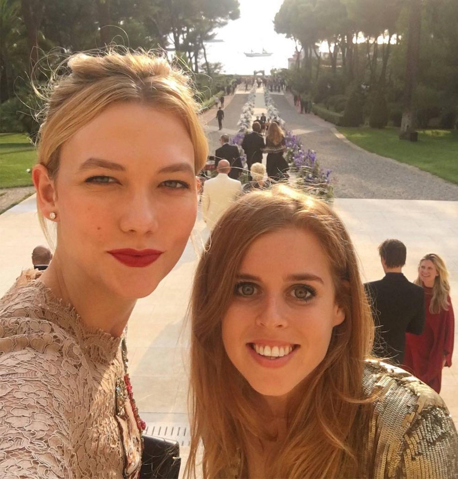 Karlie Kloss just revealed Princess Beatrice's secret Instagram account