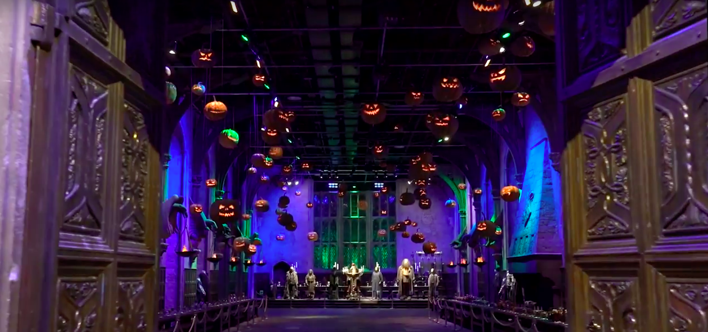harry potter fans can now spend halloween at hogwarts and it sounds