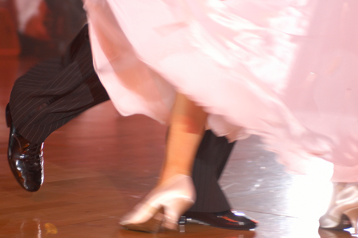 A bride broke both of her feet at her wedding dancing to the