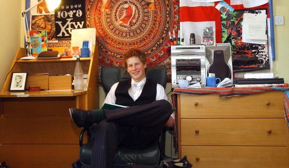 Prince Harry's bedroom at school show had a very sweet tribute to his mum