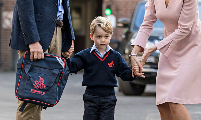 Prince William Reveals Something Prince George & Princess Diana Have in Common