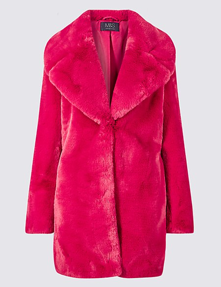latest big discount hottest sale M&S has released an oversized fur coat so you can basically ...