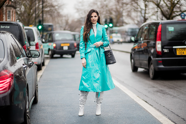 One daring coat trend absolutely dominated at London Fashion Week
