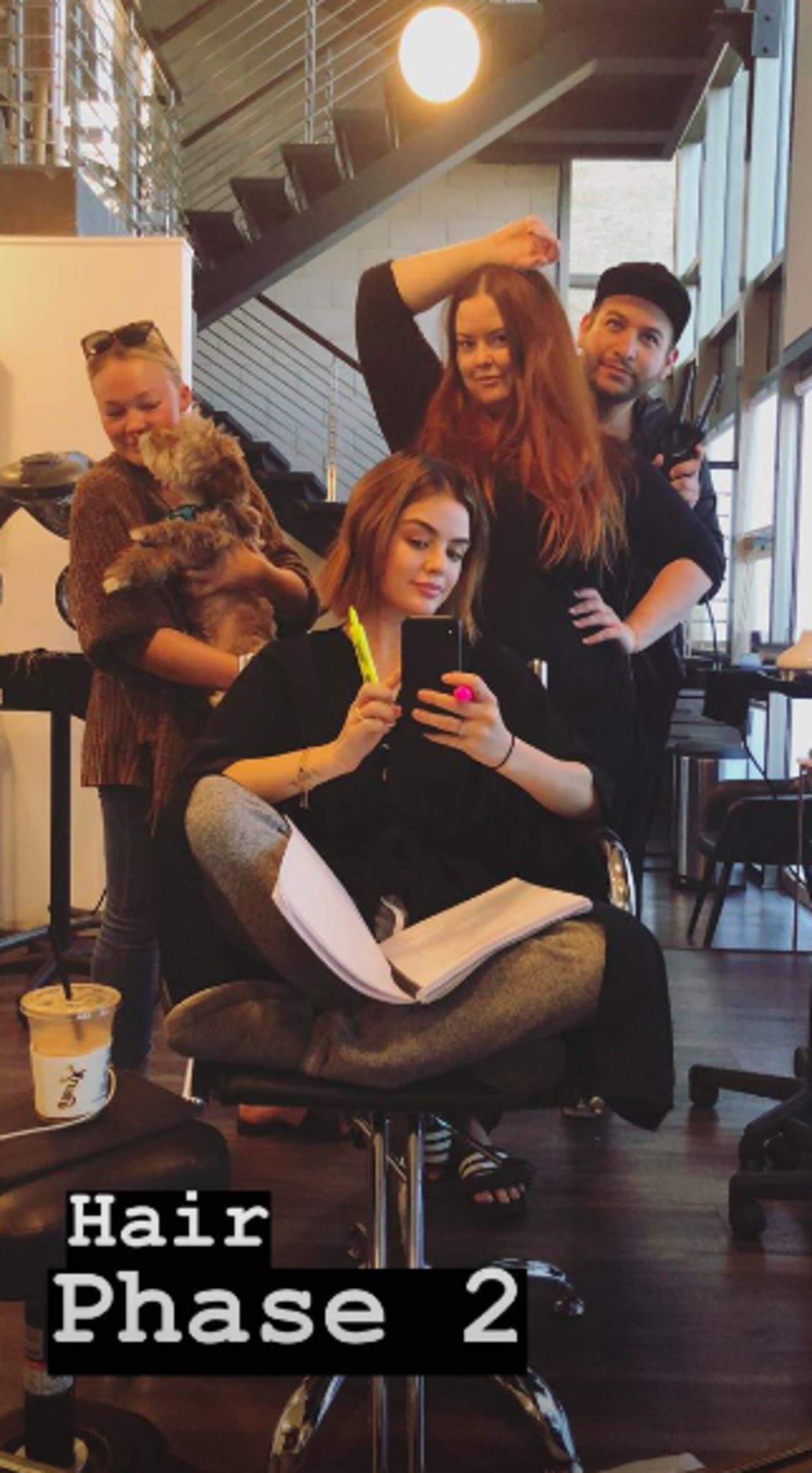 Lucy Hale Is Blonde Now And We Re Convinced It Suits Her More Than Her Natural Shade Her Ie