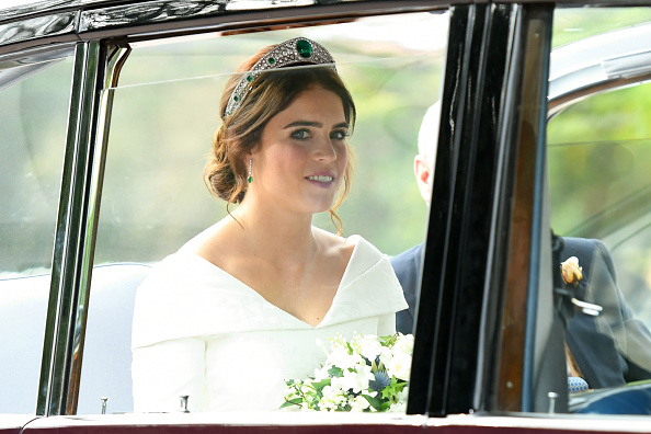 Royals release official images from Princess Eugenie and Jack Brooksbank's wedding