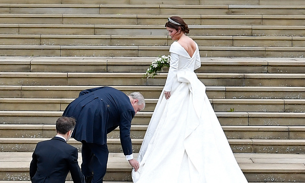 Princess Eugenie Wore A Low-Backed Wedding Dress For A Special Reason