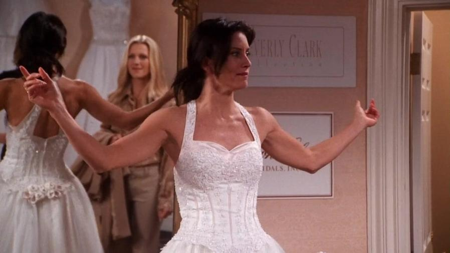 Cheap Wedding Dresses Brooklyn Ny: Friends Fans Have Just Noticed A Huge Error With Monica