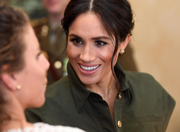 meghan wore princess diana s jewellery for the first day of the royal australian tour her ie meghan wore princess diana s jewellery for the first day of the royal australian tour her ie