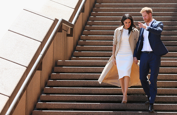 Meghan Markle gets a fright in Melbourne on royal tour of Australia