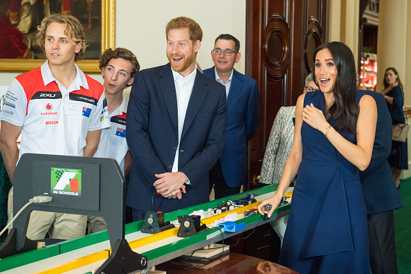 How Luke Vincent, 5, stole the show from Prince Harry