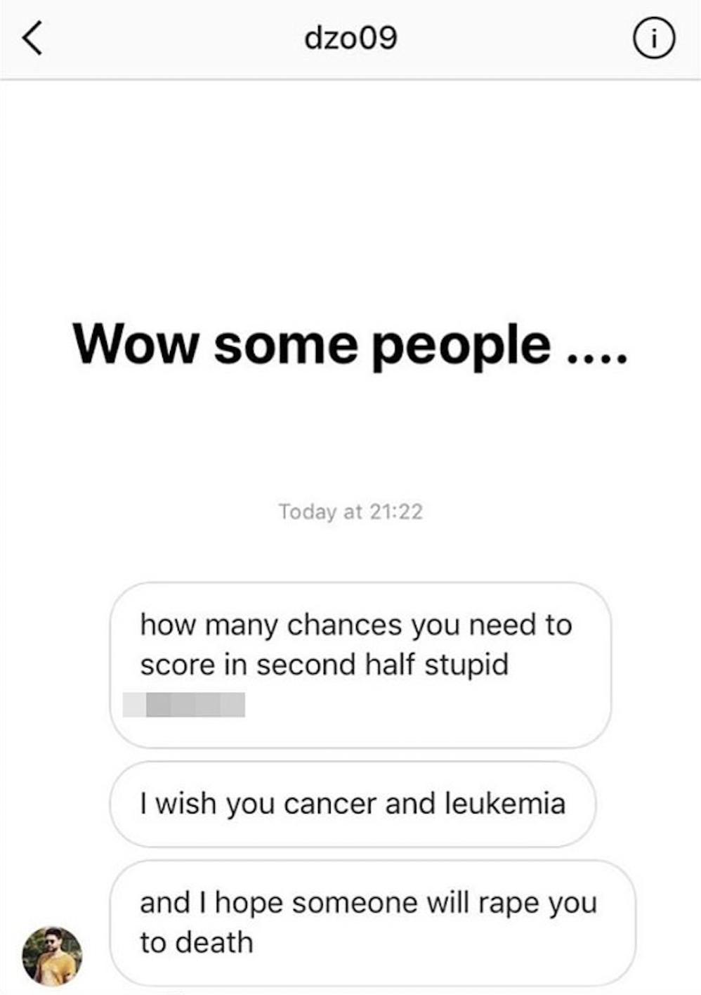 'I wish you cancer': English footballer Karen Carney's horrific messages from trolls
