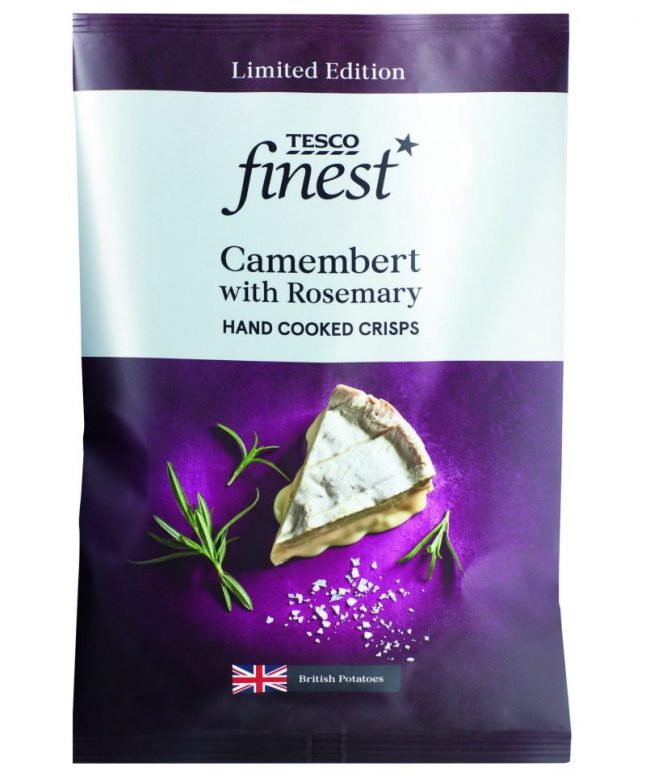 Camembert Flavoured Crisps