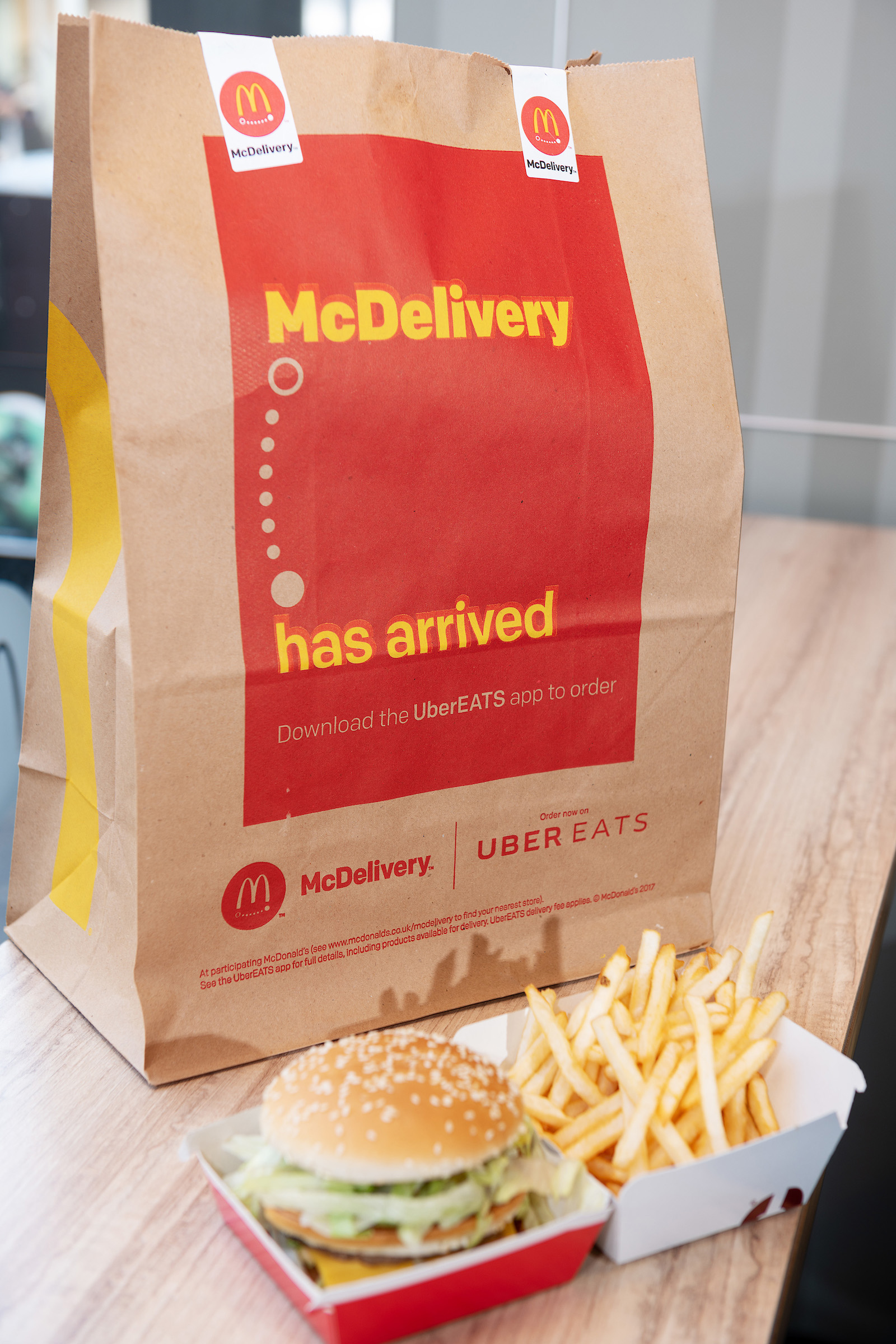 McDonald's has finally launched their delivery service in Ireland   Her.ie