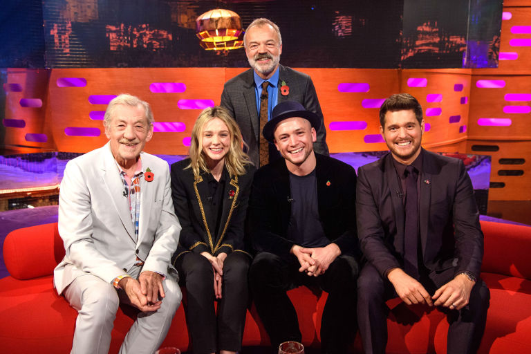 We're VERY excited about one of the guests on The Graham Norton Show tonight