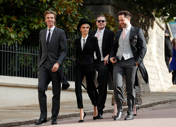 6ce41d3c45 Cara Delevingne texted Princess Eugenie about her outfit before the ...