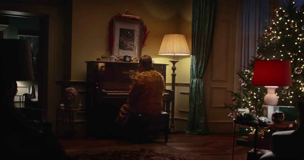Elton John stars in tear-jerking John Lewis Christmas advert