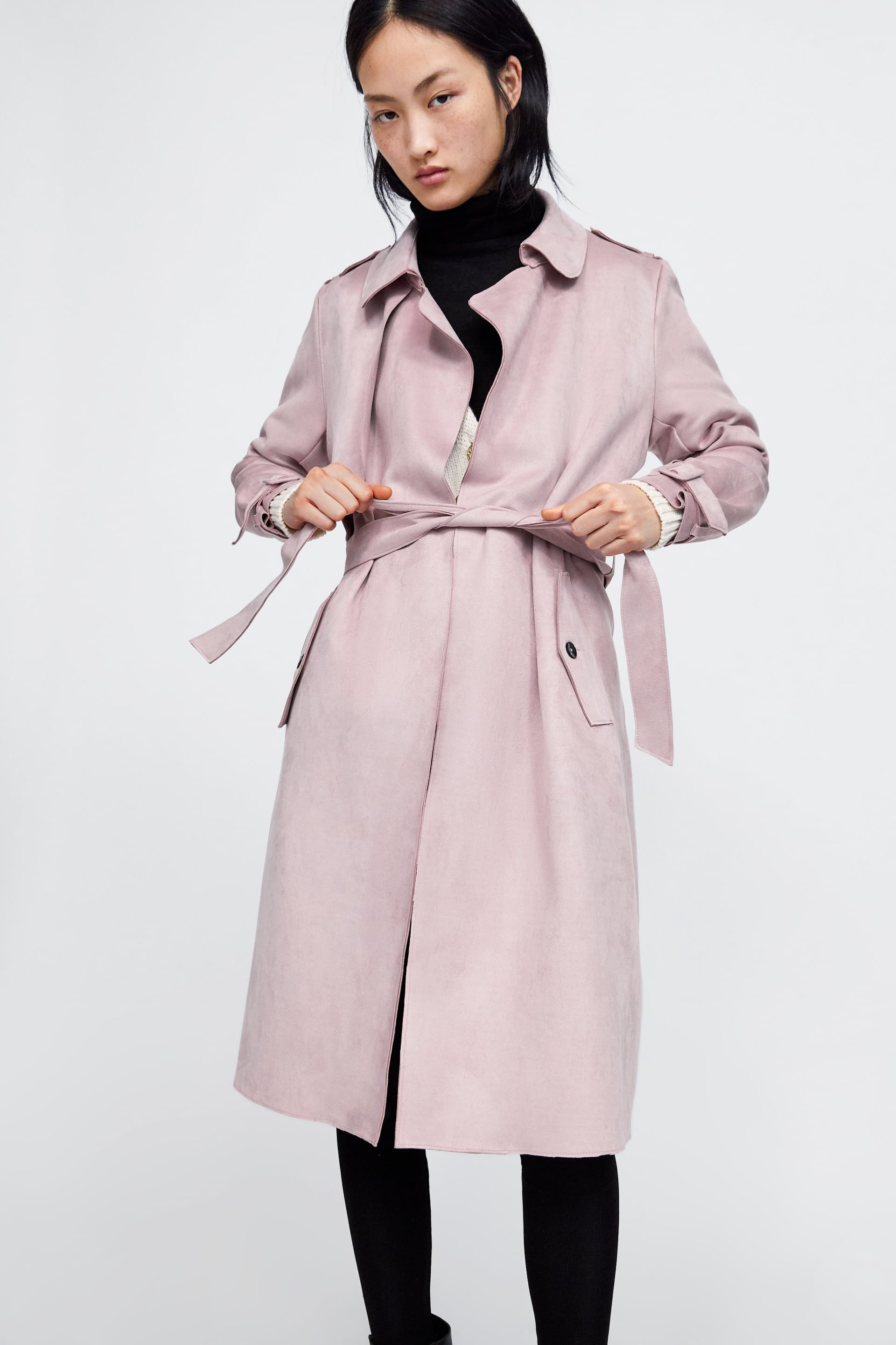 Swoon! We've just fallen in love with a Zara coat - and it's only €30