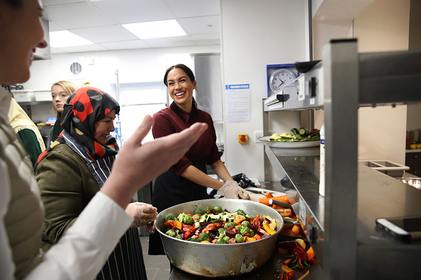 Meghan Markle Reunites With Women From The Grenfell Community Kitchen