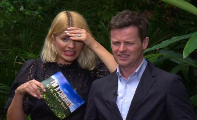 Looks like Holly's feud with Noel Edmonds has continued on the I'm A Celeb set