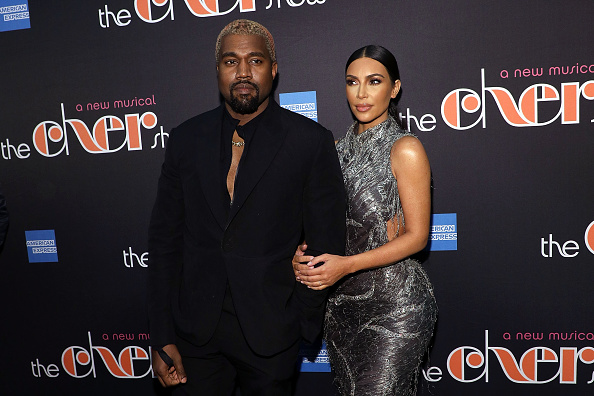 Texting Kanye West steals limelight during Broadway show