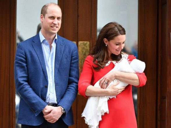 Kate Middleton and Prince Louis had the most adorable outing for Valentine's Day