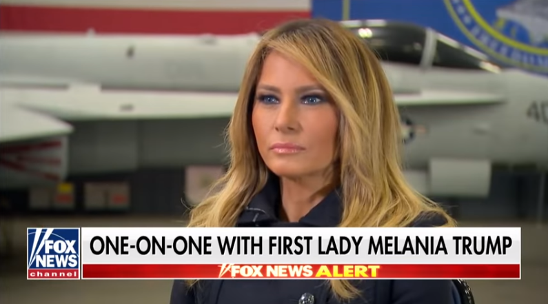 First Lady Melania Trump visits Hampton Roads