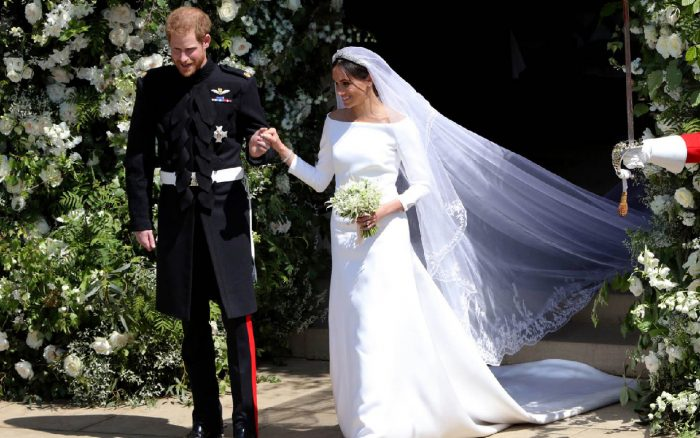 meghan markle's wedding dress