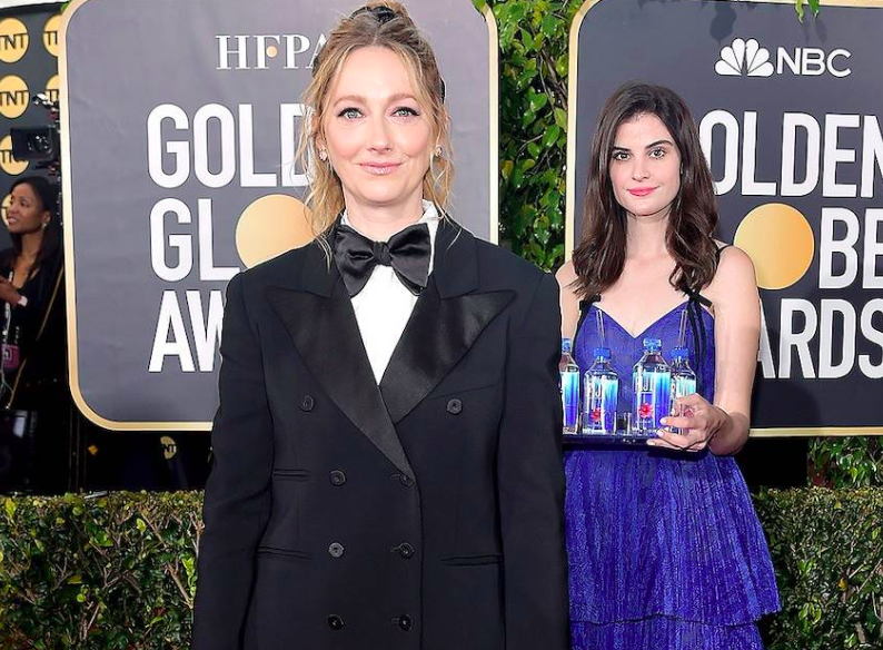 Fiji Water Girl From The Golden Globes Is The 2019 Meme We