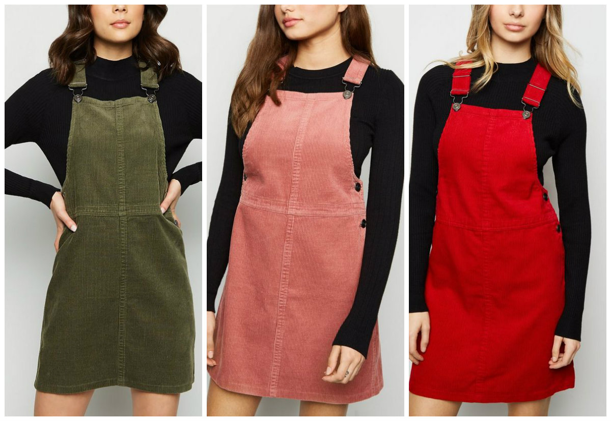 23a5b32a48 Bargains! This New Look pinafore dress comes in FIVE colours and is ...