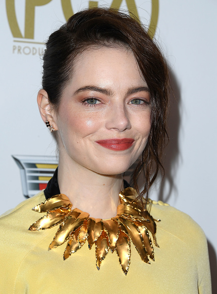 Emma Stone has ditched her trademark red hair for a ...