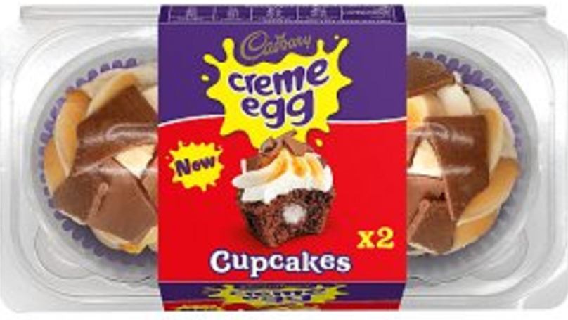 Creme Egg cupcakes exist and we'll take 15, please