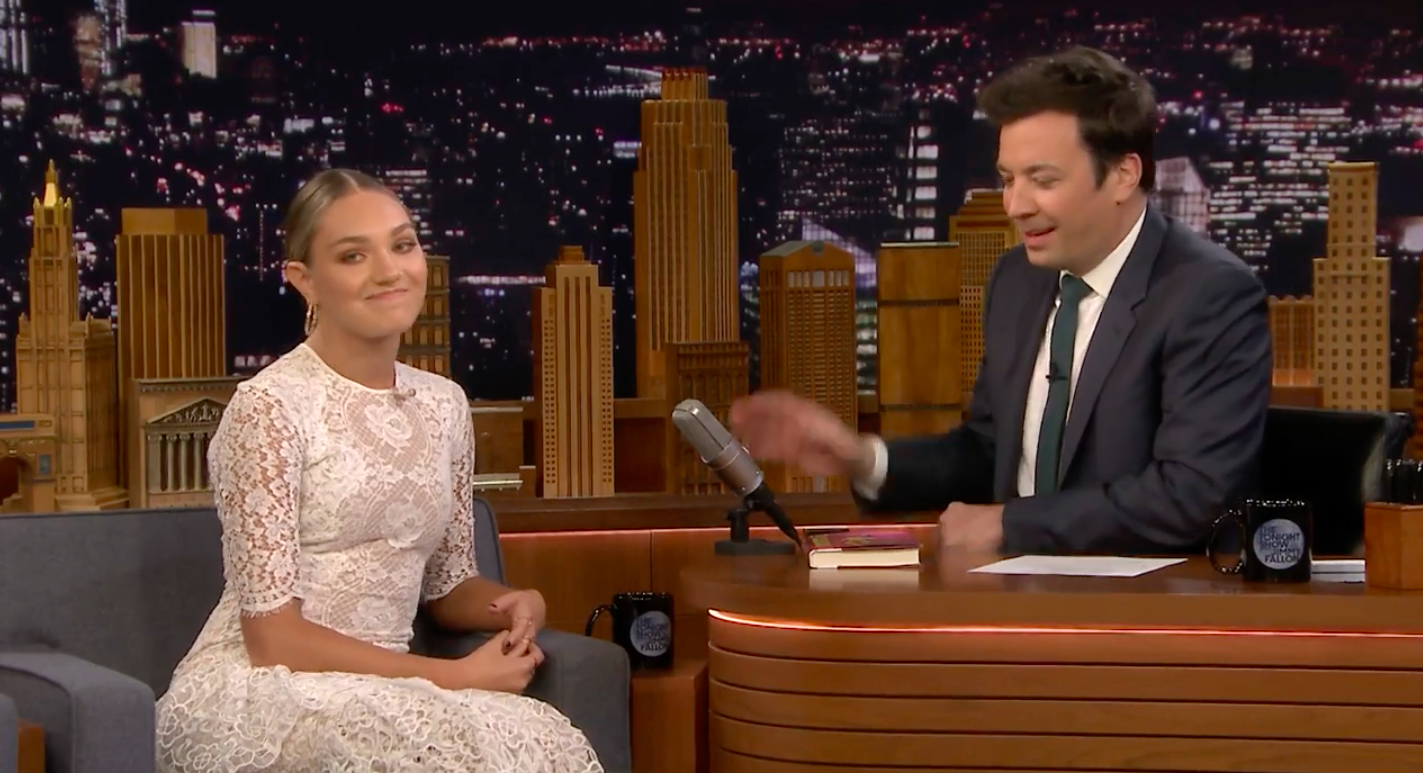 Dance Moms' Maddie Ziegler looked SO grown up on Jimmy Fallon last